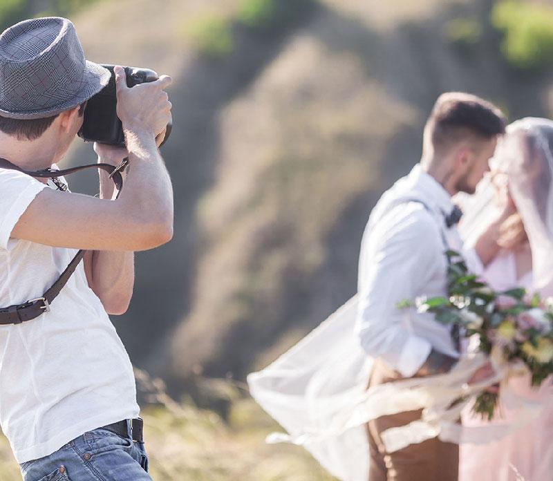 プロのカメラマンによる撮影は特別な思い出にイメージ